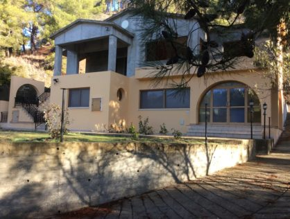 Moniatis Villa awaiting completion