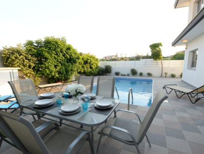 Limassol – Yermasoyia –  3 Bed Ground Floor Apartment for rent