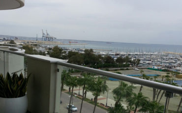 Larnaca – stunning seaview 3 bed apartment for sale
