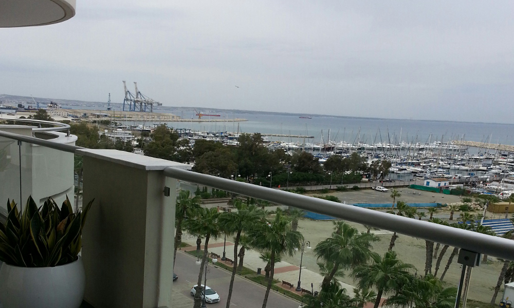 Larnaca - stunning seaview 3 bed apartment for sale