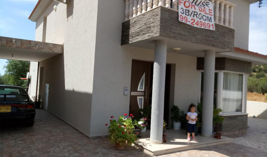 Limassol Apesia- Lovely family 3 bed detached for sale