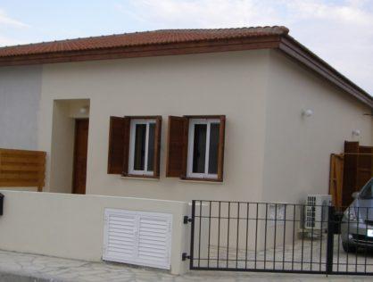 Two Bed semi-detached bungalow – Skarinou – Larnaca district