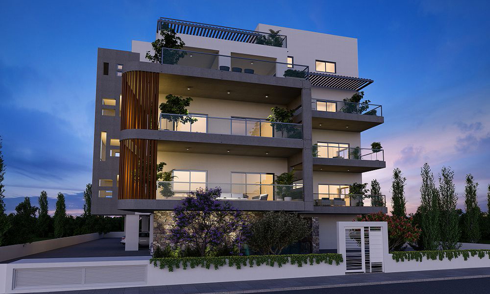 Fabulous smart one bed apartments for sale 1km from Limassol city centre