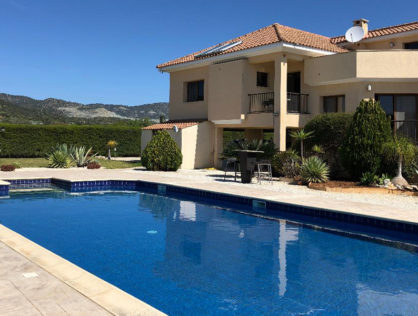Beautifully built 5 bed villa for sale Parekklesia Limassol